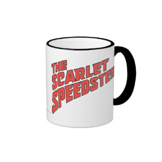 The Scarlet Speedster Logo Coffee Mugs
