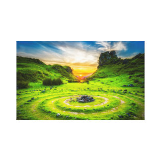The Scenic Isle of Skye in Scotland Canvas Print