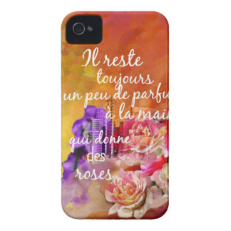 The scent of the roses still remains in the hand. iPhone 4 covers