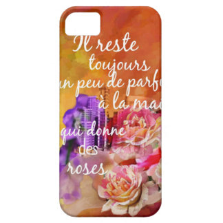 The scent of the roses still remains in the hand. iPhone 5 case
