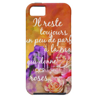 The scent of the roses still remains in the hand. iPhone 5 covers