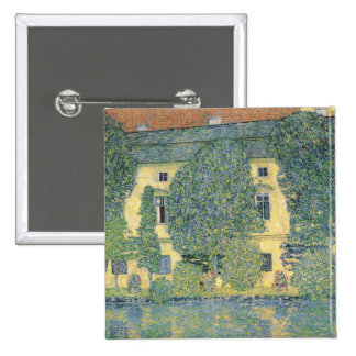 The Schloss Kammer on the Attersee III, 1910 2 Inch Square Button