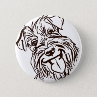 The Schnauzer Love of My Life 2 Inch Round Button