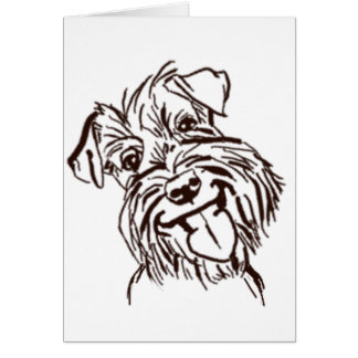 The Schnauzer Love of My Life Card