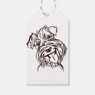 The Schnauzer Love of My Life Gift Tags