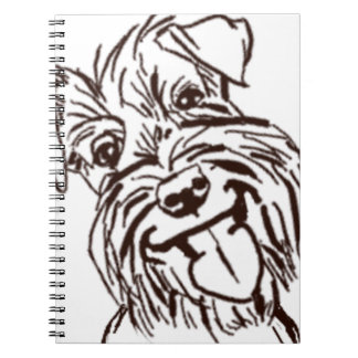 The Schnauzer Love of My Life Notebook