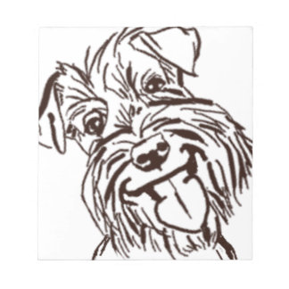 The Schnauzer Love of My Life Notepad
