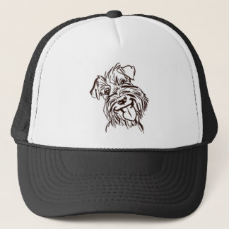 The Schnauzer Love of My Life Trucker Hat