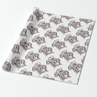 The Schnauzer Love of My Life Wrapping Paper