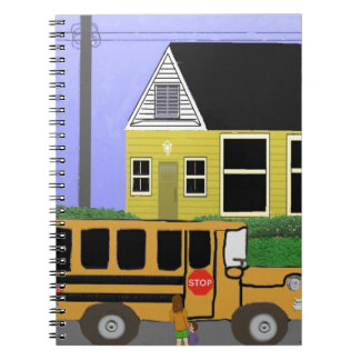 The school bus notebooks