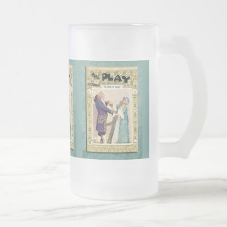 The School for Scandal Mug Frosted Beer Mugs