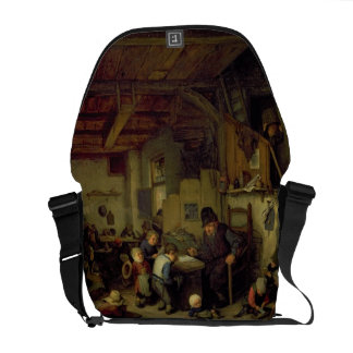 The School Master, c.1662 (oil on panel) Commuter Bags