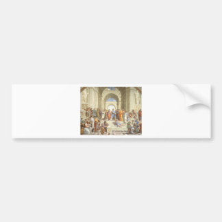 The School of Athens Bumper Sticker