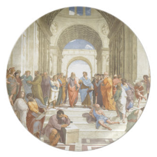 The School of Athens Dinner Plate
