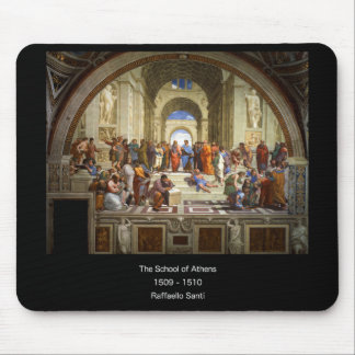 The School of Athens Mouse Pad
