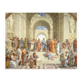 The School of Athens Postcard