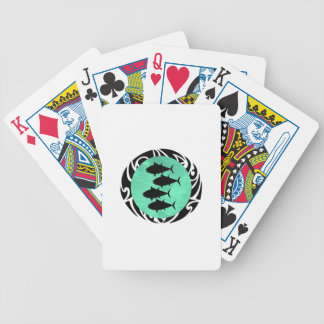 THE SCHOOL TRIBE BICYCLE PLAYING CARDS