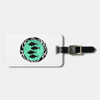 THE SCHOOL TRIBE LUGGAGE TAG