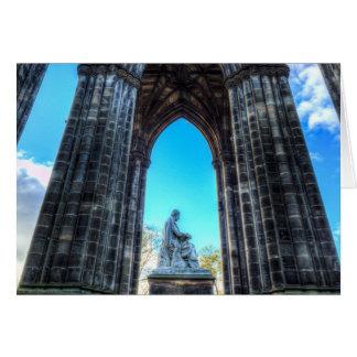 The Scott Memorial Edinburgh Card