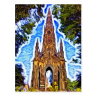 The Scott Monument, Edinburgh, Scotland. Postcard