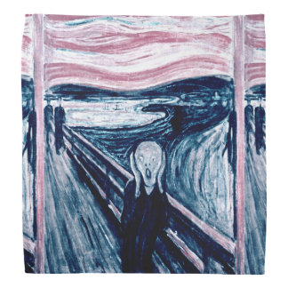The Scream by Edvard Munch Bandana