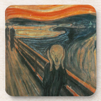 The Scream by Edvard Munch Coaster