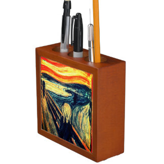 The Scream by Edvard Munch Desk Organizer