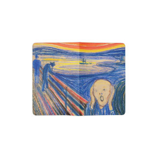 The Scream by Edvard Munch (in pastel)
