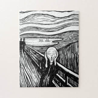 The Scream by Edvard Munch Jigsaw Puzzle