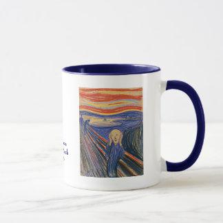 The Scream by Edvard Munch Mug