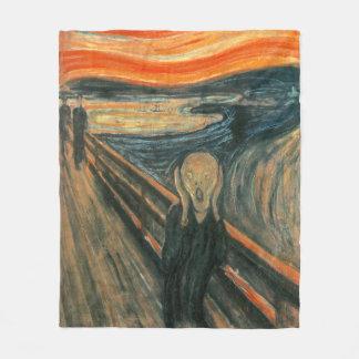 The Scream by Edvard Munch | Painting Fleece Blanket