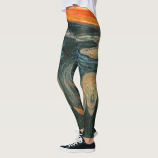 The Scream by Edvard Munch ~ Painting Leggings