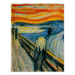 The Scream by Edvard Munch Posters