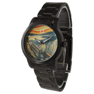 The Scream by Edvard Munch Wrist Watches