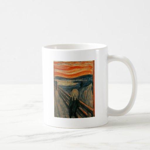 The Scream - Edvard Munch 1893 Mugs