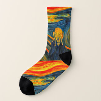 The Scream - Edvard Munch - Art Socks