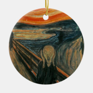 The Scream - Edvard Munch Ceramic Ornament