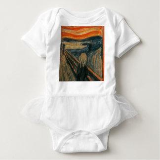The Scream - Edvard Munch. Painting Artwork. Baby Bodysuit