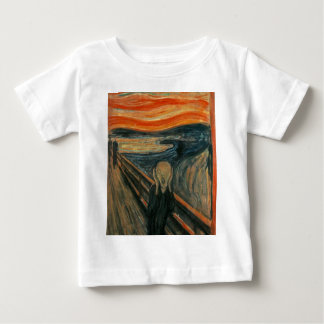 The Scream - Edvard Munch. Painting Artwork. Baby T-Shirt