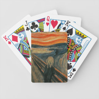 The Scream - Edvard Munch. Painting Artwork. Bicycle Playing Cards