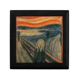 The Scream - Edvard Munch. Painting Artwork. Gift Box