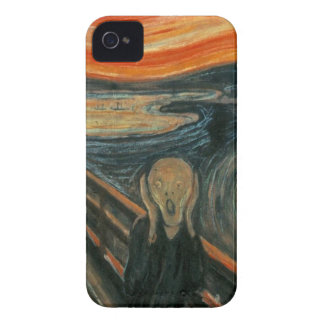 The Scream - Edvard Munch. Painting Artwork. iPhone 4 Cover