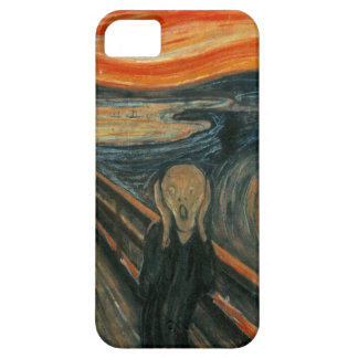 The Scream - Edvard Munch. Painting Artwork. iPhone 5 Case