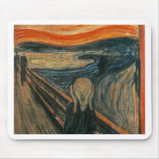 The Scream - Edvard Munch. Painting Artwork. Mouse Pad