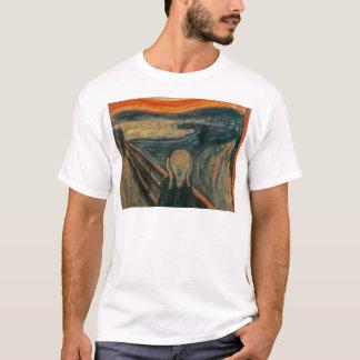 The Scream - Edvard Munch. Painting Artwork. T-Shirt