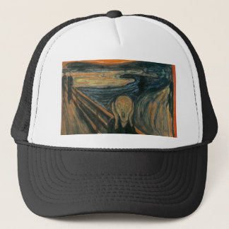 The Scream - Edvard Munch. Painting Artwork. Trucker Hat