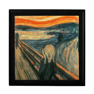 The Scream Edward Munch Screaming Jewelry Boxes