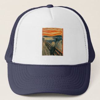 The Scream Edward Munch Screaming Trucker Hat