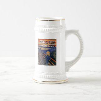 The Scream - ODG is GOD spelled ODG Coffee Mug