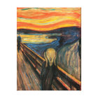 The Scream -  Stretched Canvas Reproduction